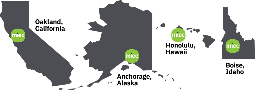 MIEC Territory Map