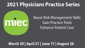 ACMS / MIEC 2021 Physicians Pratice Series Banner